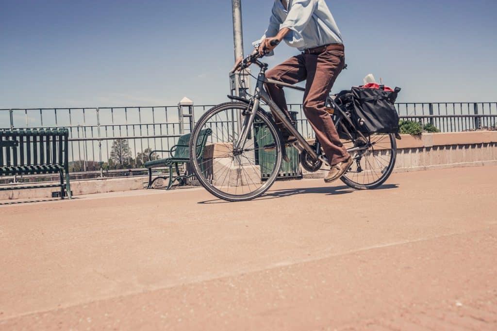 bike commute no shower
