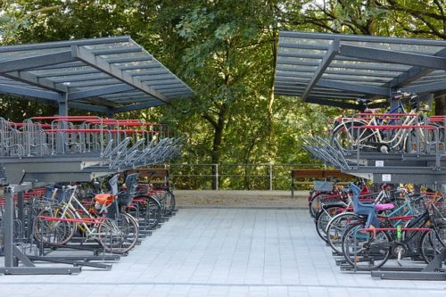 bike parking storage