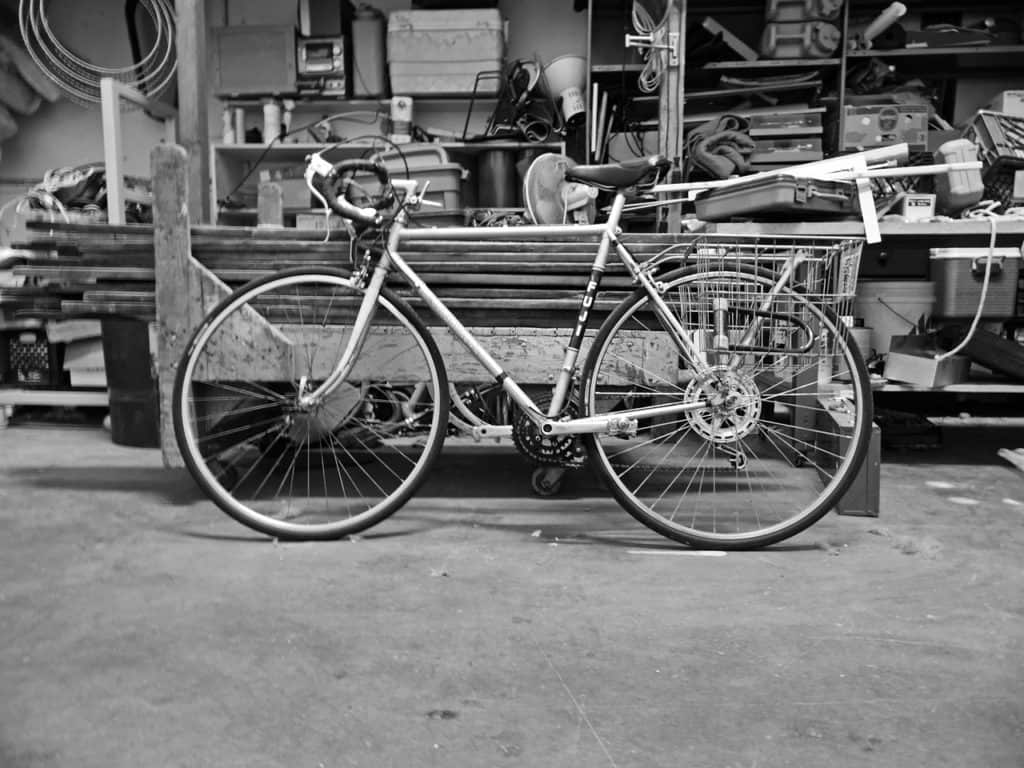 This image has an empty alt attribute; its file name is where-to-store-bike-at-work-1024x768.jpg