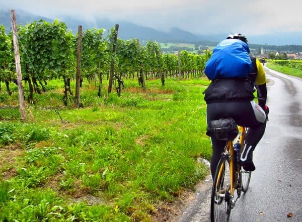 how to bike in the rain and be dry