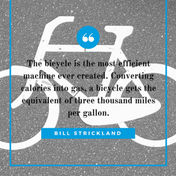 bike efficiency quote