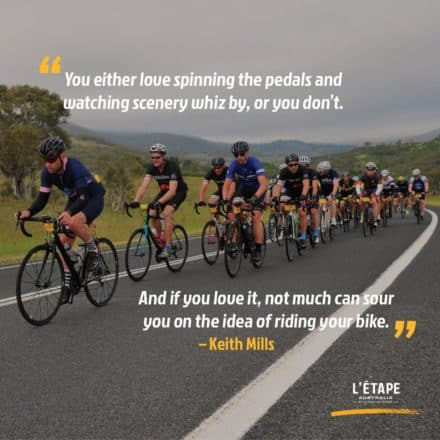 love bike riding quote