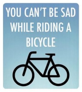 sad bike quote