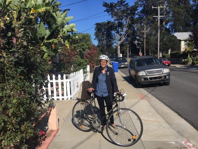 HS teacher bicycle commuter