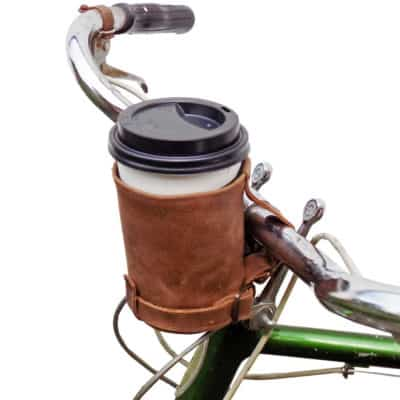 how to carry coffee while biking