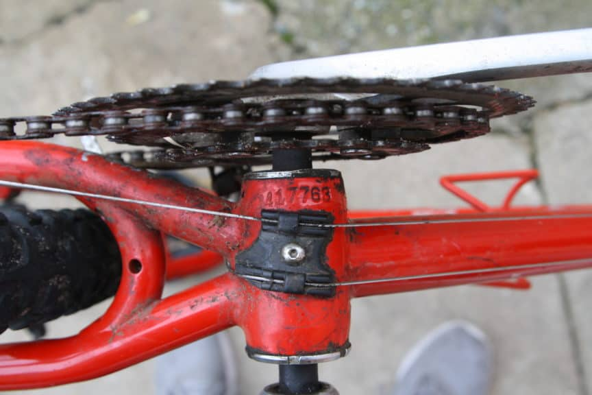 bicycle serial number