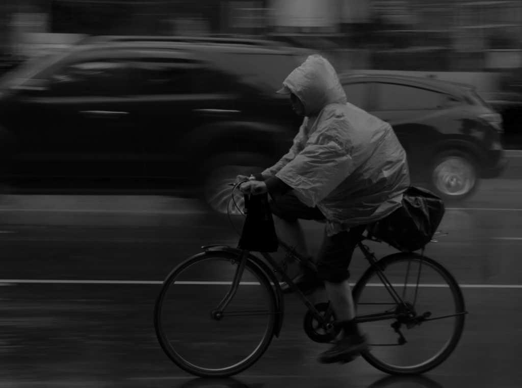 cycling rain capes