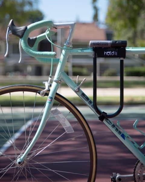 Mount Bike Bicycle Tube Clamp holder Mounting U Kryptonite EZ lock Bracket