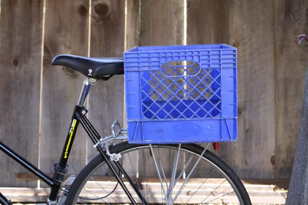 This image has an empty alt attribute; its file name is milk-crate-on-rear-bike-rack-1024x683.jpg