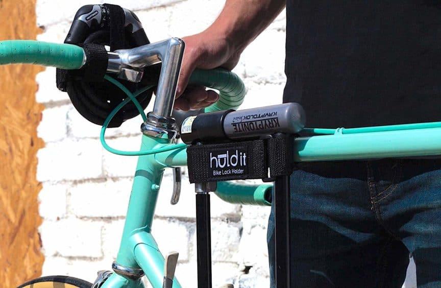 how to mount u lock on bike