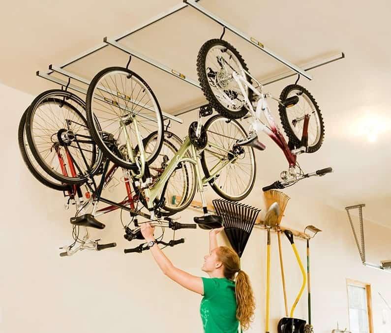 8 Best Bike Lifts For Storing Your, Bike Hanger For Garage Ceiling